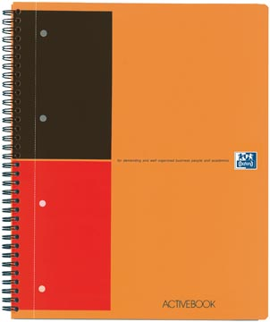 Oxford INTERNATIONAL activebook, 160 bladzijden, ft A4+, gelijnd