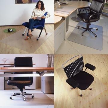 Floortex vloermat Cleartex Advantagemat, voor harde oppervlakken, rechthoekig, ft 120 x 150 cm