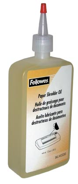 Fellowes olie voor papiervernietigers, flacon van 350 ml