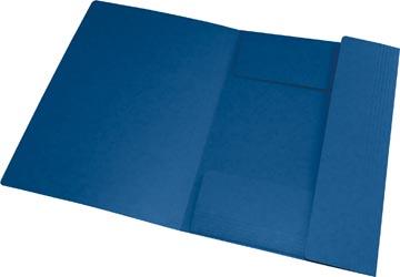 Oxford Top File+ elastomap, voor ft A4, donkerblauw