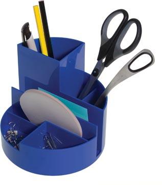 Maul Bureaustandaard Roundbox, blauw