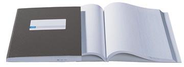 Atlanta by Jalema kasboeken 2 x 2 kolommen, kleur: grijs