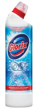 Glorix toiletreiniger O2, flacon van 0,75 liter