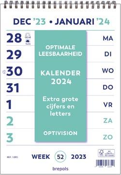 Brepols Optivision kalender Nederlandstalig, 2022