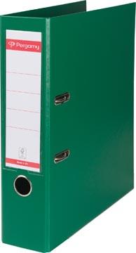 Pergamy ordner, voor ft A4, volledig uit PP, rug van 8 cm, groen
