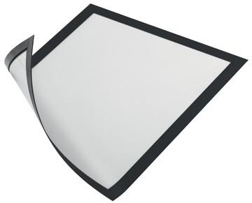 Durable Magnetisch kader, zwart, ft A4, pak van 5 stuks