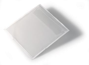Durable Zelfklevende CD/DVD-tas Pocketfix 100 stuks