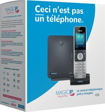 Magic IP Plug & Play by Interfone W60P, gebruiksklare telefooncentrale