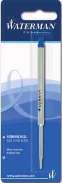 Waterman vulling voor balpen medium, blauw, op blister