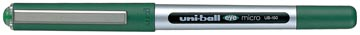 Uni-ball Eye Micro roller, schrijfbreedte 0,2 mm, punt 0,5 mm, groen